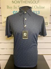 Smooth Pique FJ Print (Navy with Iced Berry) 90356