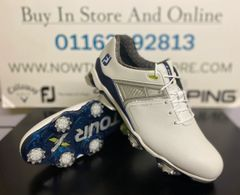 FootJoy Tour X (White/Navy) 55404