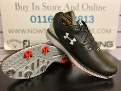 Under Armour HOVR Drive GTX Golf Shoes (Black)