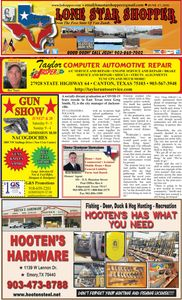 LONE STAR SHOPPER PAGE ONE