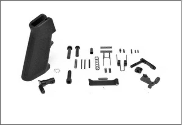"""NEW"" LOWER PARTS KIT MIL-SPEC AR-15 - MINUS FIRE CONTROL GROUP"