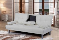 Manhattan Sofa Bed- Black, White, Brown,