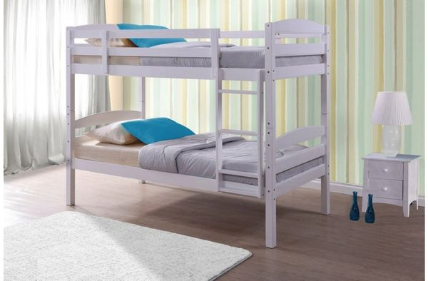 chatsworth white bunk beds