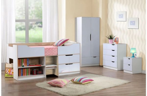Paddington cabin bed various colours frame only