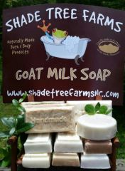 Milled Goat Milk Soap Bars