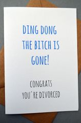 DING DONG THE BITCH IS GONE