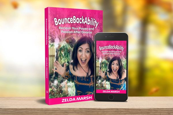 BounceBackAbility-Zelda Marsh Reclaim your Power and Passion after Divorce. Published Book