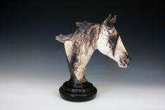 Large Quarter Horse Bust