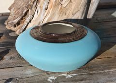 Copper and Teal Bowl