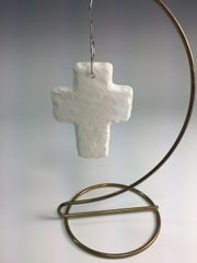 Rugged Cross Ornament