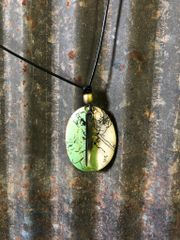 Green and Ivory Necklace