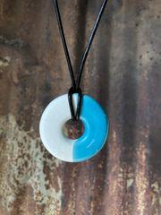 Circle Turquoise 4 Pendant