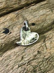 Custom Silver Finger Print Pendant