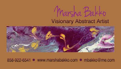 Marsha Bakko Visionary Abstract Artist