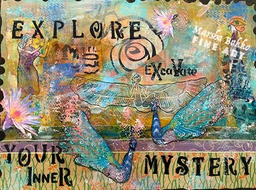 Explore EXcaVate Your Inner Mystery