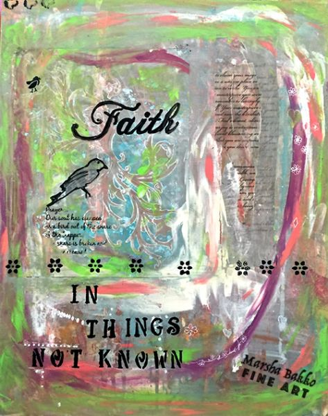 Faith in Things Not Known