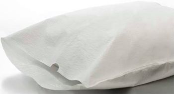"Avalon Disposable Pillowcase - 21"" x 30"" - White - 100/Cs"