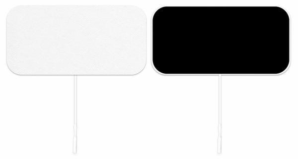"Axelgaard Valutrode X Cloth 2"" x 4"" Rectangle Electrode 40/Cs"