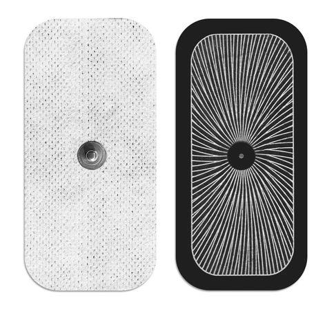"""UltraStim® Snap 2"""" x 4"""" Electrodes 40/Case"""