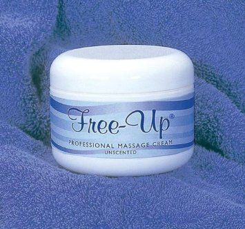 Free up Unscented Massage Cream 16 oz