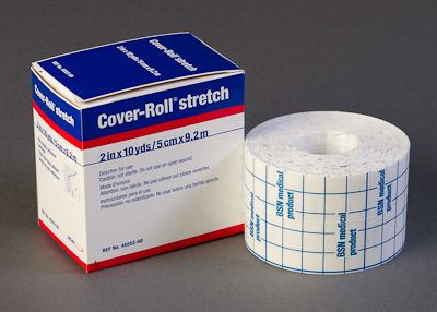 "Cover-Roll Stretch Non-Woven Adhesive Bandage 2"" x 10 yd Roll"