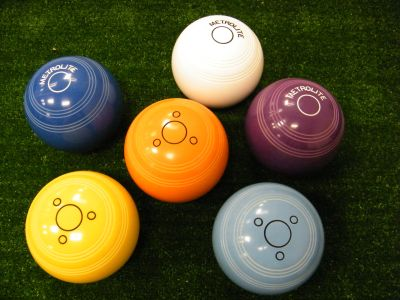 We have crown green bowling practice jacks in stock.