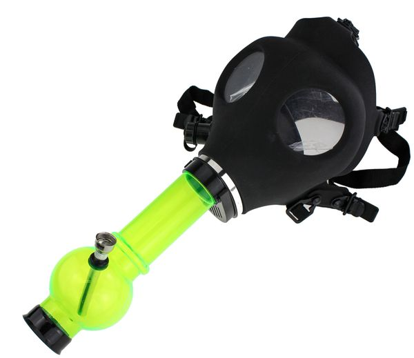 Gas Mask Tobacco Pipe
