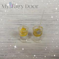 2 Lemonade Glasses