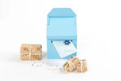 Blue Fairy Mailbox