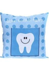 Tooth Fairy Pillow - Blue Tooth Design