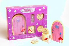 Fairy Door & Tooth Box Set Pink