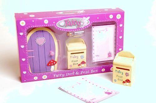 Fairy Door & Postbox Set