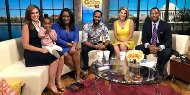 chef anthony thomas dc chef dmv chef handsome chef chefanthonydc erin como wisdom martin dmv dc md va virginia maryland good day dc fox 5 ashlyn thomas