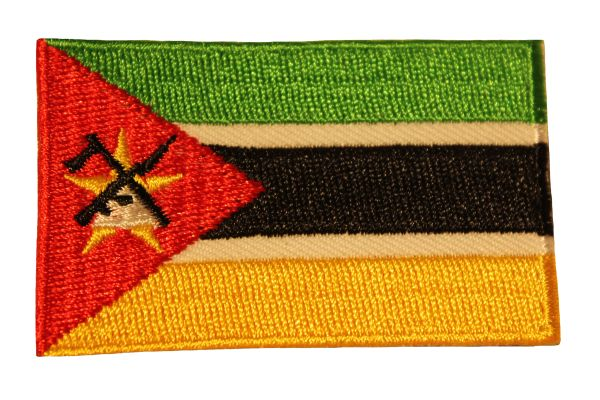 MOZAMBIQUE Country Flag Iron - On PATCH CREST BADGE