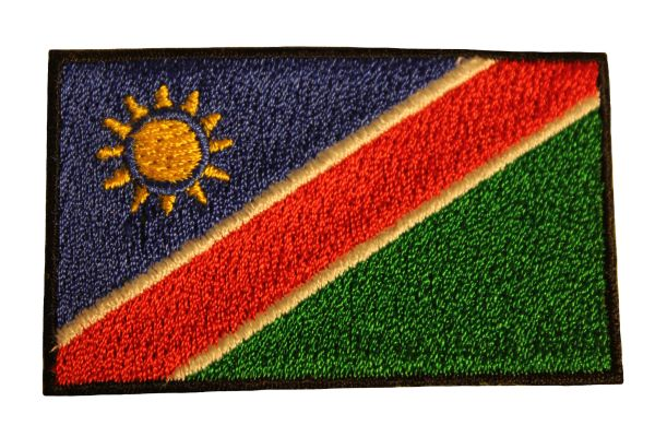 NAMIBIA Country Flag Iron On PATCH CREST BADGE