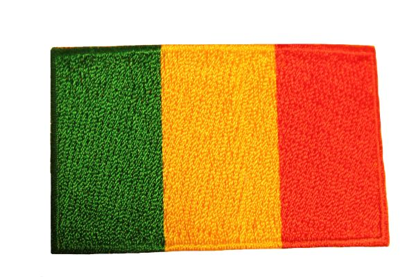 MALI Country Flag Iron On PATCH CREST BADGE