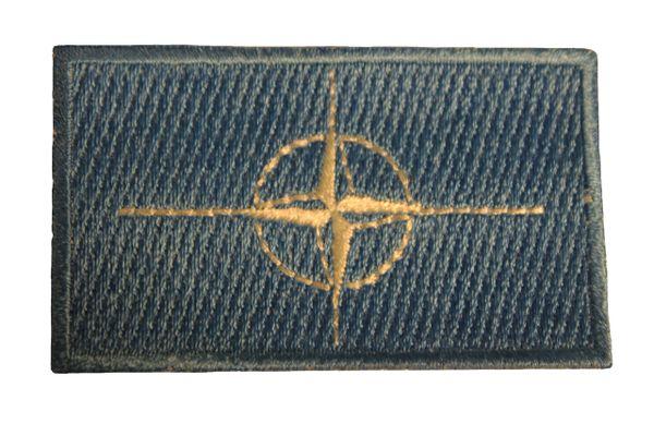 NATO Flag Iron On PATCH CREST BADGE