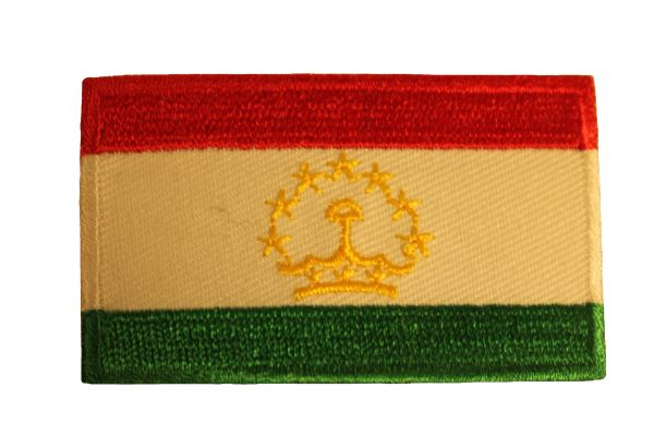 TAJIKISTAN Country Flag Iron - On PATCH CREST BADGE