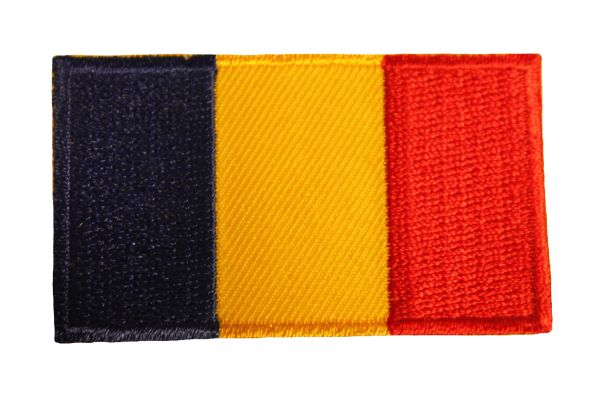 ROMANIA Country Flag Iron - On PATCH CREST BADGE