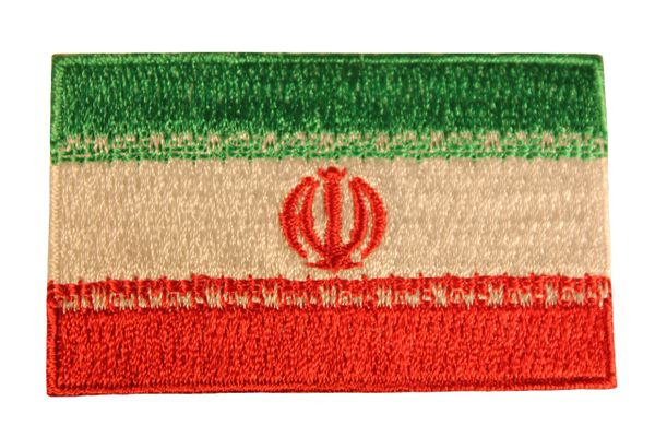 "IRAN New COUNTRY FLAG Small 1.5"" X 2.5"" Inch PATCH CREST BADGE"