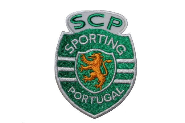 SPORTING SCP PORTUGAL Embroidered Iron - On PATCH CREST BADGE