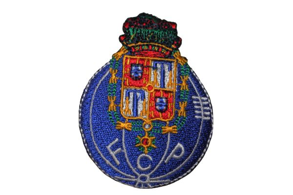 FC PORTO F C P Embroidered Iron - On PATCH CREST BADGE