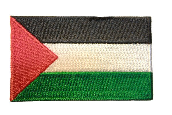 PALESTINE NATIONAL COUNTRY FLAG IRON ON PATCH CREST BADGE .. 1.5 X 2.5 INCHES .. NEW