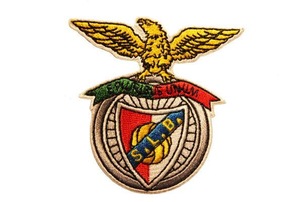BENFICA Logo S.L.B. E PLURIBUS UNUM Embroidered Iron - On PATCH CREST BADGE