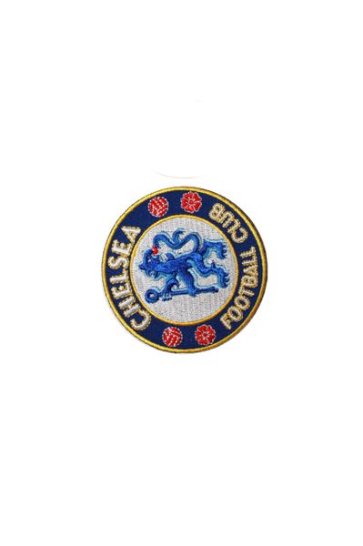 "CHELSEA FC LOGO EMBROIDERED IRON ON PATCH CREST BADGE .. SIZE : 2"" x 2"" INCHES .. NEW"