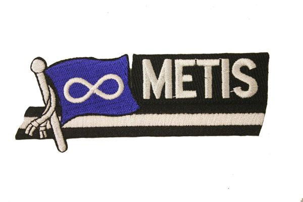 METIS SIDEKICK WORD COUNTRY FLAG IRON ON PATCH CREST BADGE