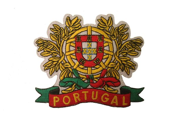 PORTUGAL BIG COUNTRY FLAG IRON ON PATCH CREST BADGE