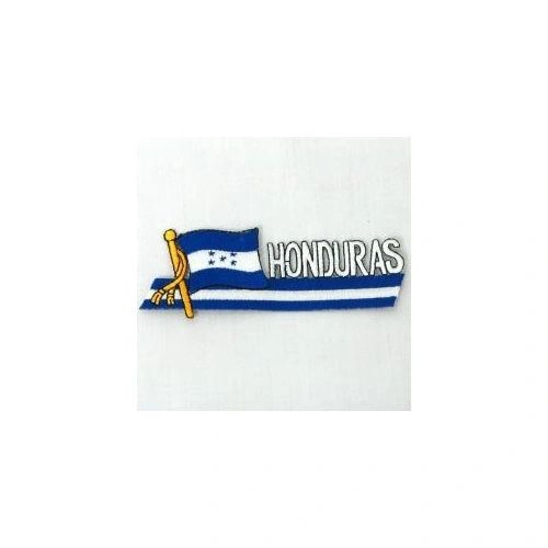 HONDURAS SIDEKICK WORD COUNTRY FLAG IRON ON PATCH CREST BADGE