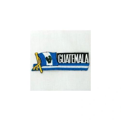 GUATEMALA SIDEKICK WORD COUNTRY FLAG IRON ON PATCH CREST BADGE