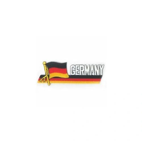 GERMANY SIDEKICK WORD COUNTRY FLAG IRON ON PATCH CREST BADGE